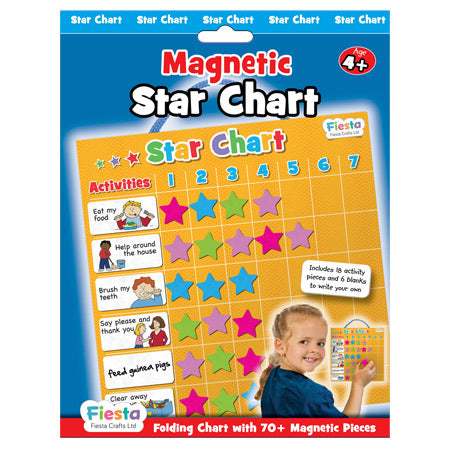 Fiesta Magnetic Star Chart - educationaltoys.ie
