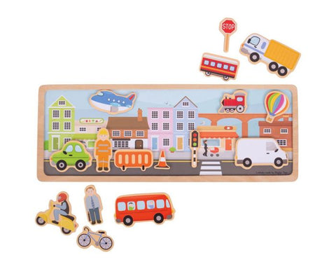 City Magnetic Story Board BJ910 - educationaltoys.ie