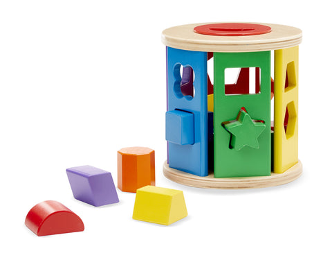 Match & Roll Shape Sorter - educationaltoys.ie