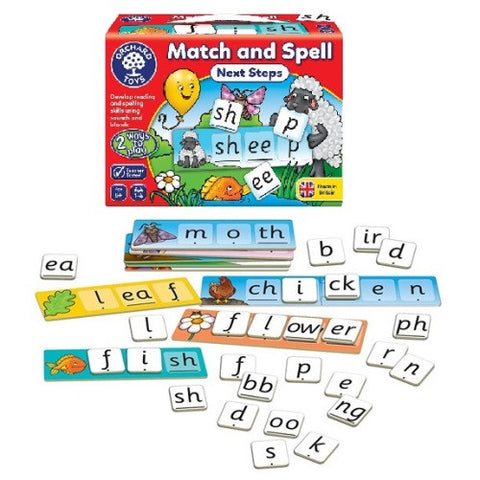 Match & Spell - Next Steps - educationaltoys.ie