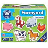 Orchard Toys Farmyard Puzzles - educationaltoys.ie