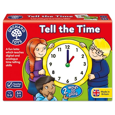 Orchard Toys Tell The Time - educationaltoys.ie