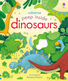 Usborne Peep Inside Dinosaurs - educationaltoys.ie