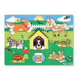 Pets Small Peg Puzzle - Melissa & Doug _ educationaltoys.ie