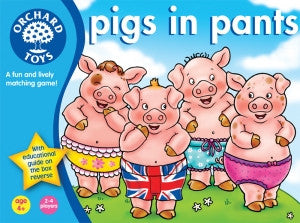 Orchard Toys Pigs in Pants - educationaltoys.ie