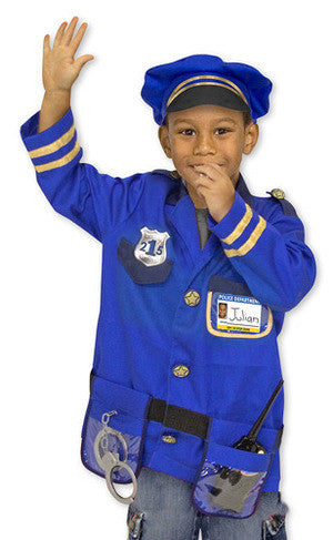 Policeman role play costume - educationaltoys.ie