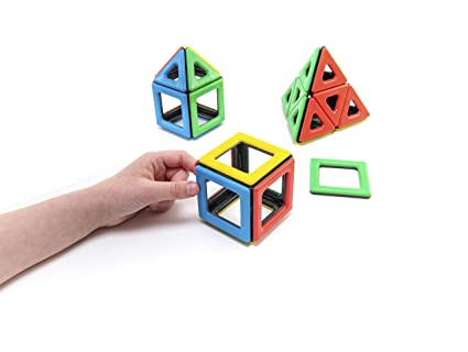 Magnetic Polydron 50-1000 - educationaltoys.ie