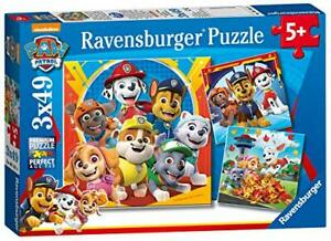 Ravensburger Paw Patrol 3 x 49pce jigsaws 05048 - educationaltoys.ie