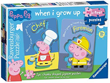 Peppa Pig When I Grow Up First Puzzles 6969 - educationaltoys.ie