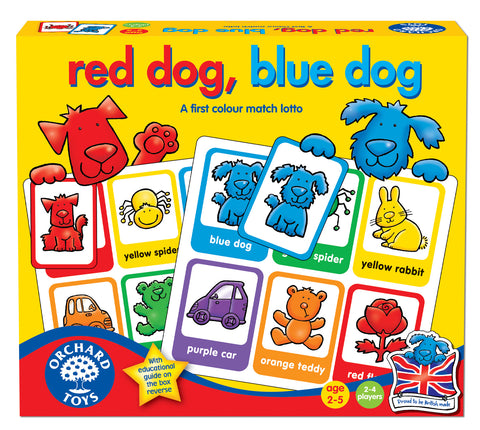 Red Dog Blue Dog - Educationaltoys.ie