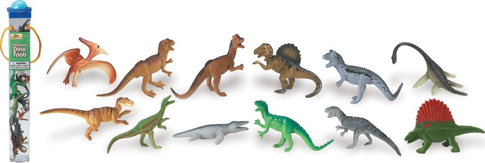 Safari Carnivorous Dinos Toob - educationaltoys.ie