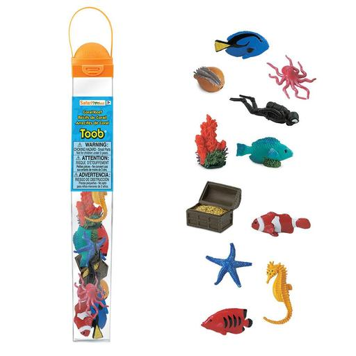 Safari Coral Reef Toob - educationaltoys.ie