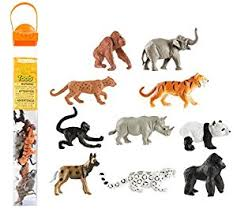 Endangered Species-Land Toob - Safari - educationaltoys.ie