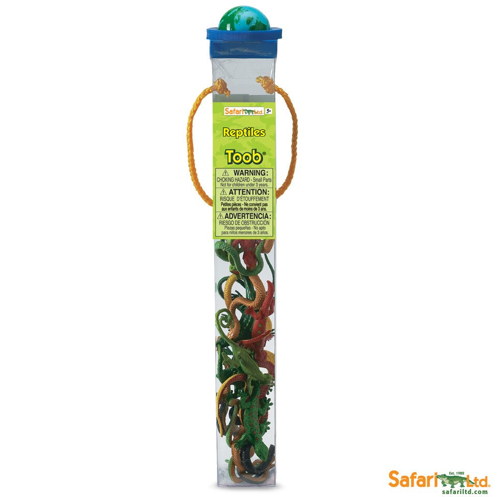 Safari Reptiles Toob - educationaltoys.ie