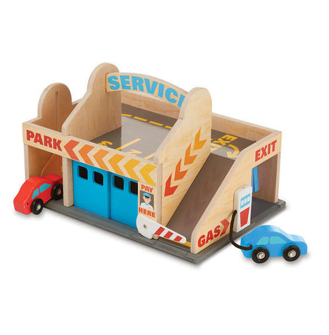 Melissa & Doug Service Station Garage - educationaltoys.ie