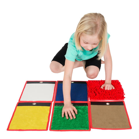 Spordas Set 6 Sensory Mini Mats - educationaltoys.ie