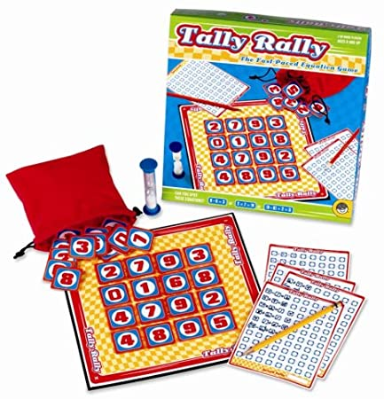 Tally Rally Spot The Equations - educationaltoys.ie