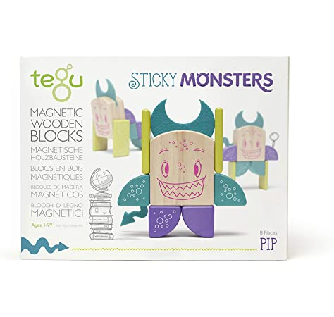 Tegu Sticky Monsters - educationaltoys.ie