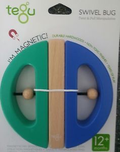 Tegu Swivel Bug Magnetic Wooden Toy - educationaltoys.ie
