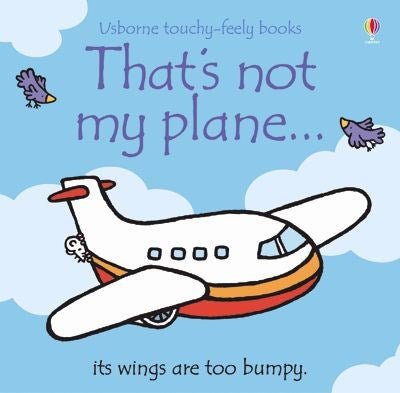 Usborne That's Not My Plane Touch & Feel Story Book - educationaltoys.ie