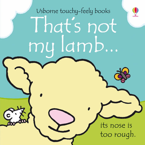 Usborne That's Not My Lamb Touch & Feel Book - educationaltoys.ie