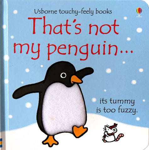 Usborne That's Not My Penguin - educationaltoys.ie