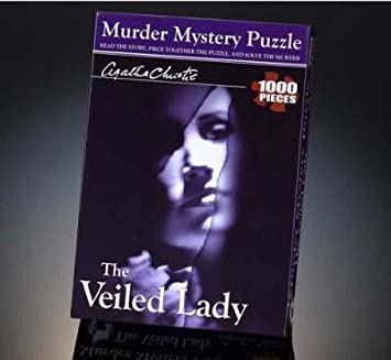 Agatha Christie - The Veiled Lady 1000 pce Mystery Puzzle - educationaltoys.ie