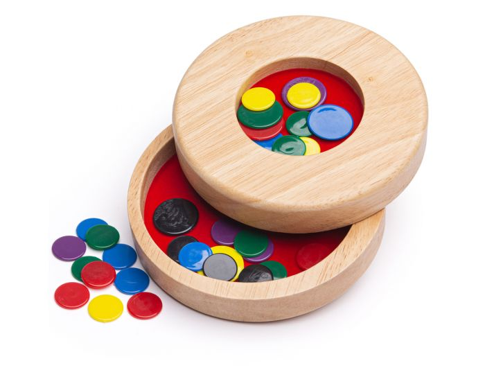 Wooden Tiddly Winks BJ154 - educationaltoys.ie