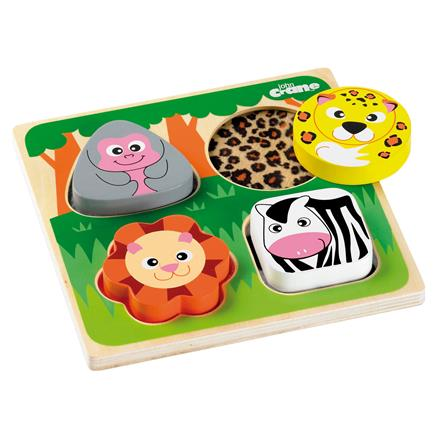 Tidlo Touch & Feel Safari - educationaltoys.ie