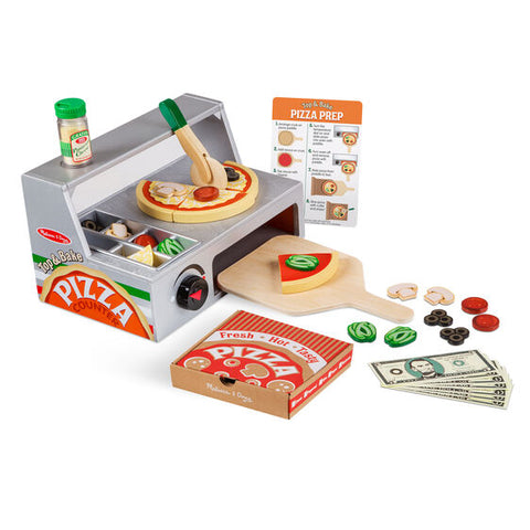 Top & Bake Pizza Counter Play Set - educationaltoys.ie