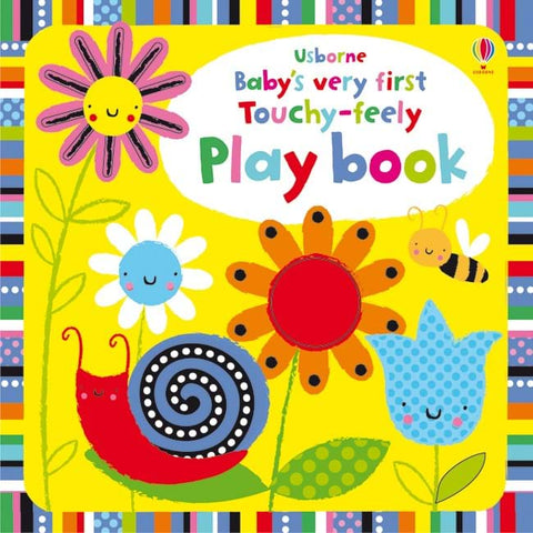 Usborne Baby's Very First Touchy Feely Lift The Flap Play Book - educationaltoys.ie