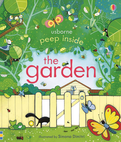 Usborne Peep Inside The Garden - educationaltoys.ie