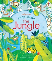 Usborne Peep Inside The Jungle - educationaltoys.ie