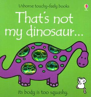 Usborne That's Not My Dinosaur Touch & Feel First Book - educationaltoys.ie