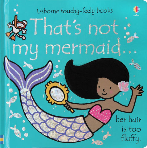 Usborne That's Not My Mermaid - educationaltoys.ie