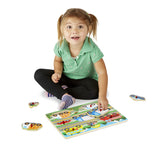 Vehicles Small Peg Puzzle - educationaltoys.ie