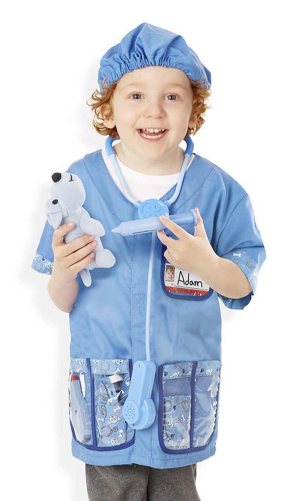 Melissa & Doug Vet Role Play Costume set - educationaltoys.ie