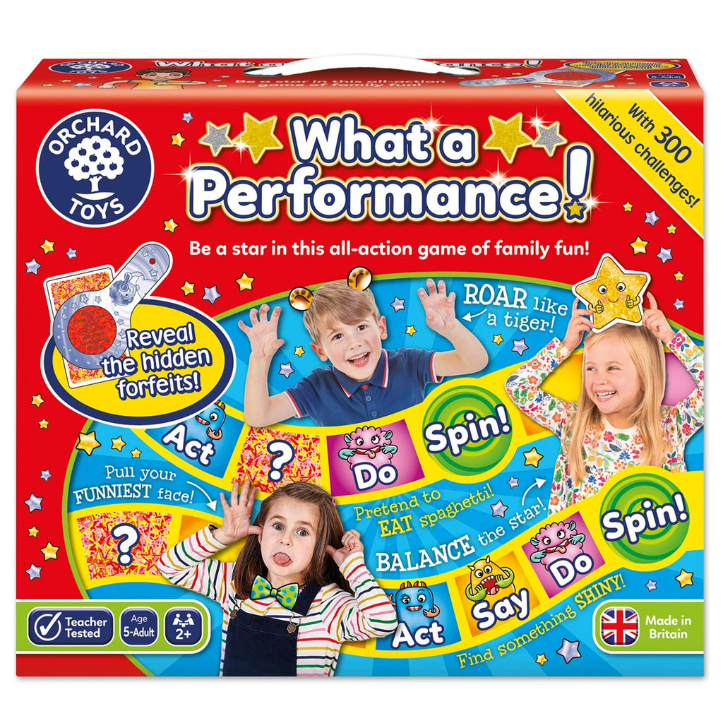 Orchard Toys What a Performance - educationaltoys.ie
