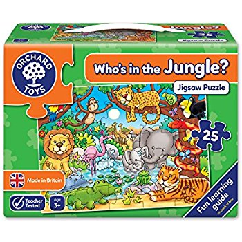 Orchard Toys Who's In The Jungle Jigsaw - educationaltoys.ie