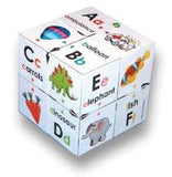 Zoobookoo Alphabet - First Phonics and Colour Matching Cube - educationaltoys.ie