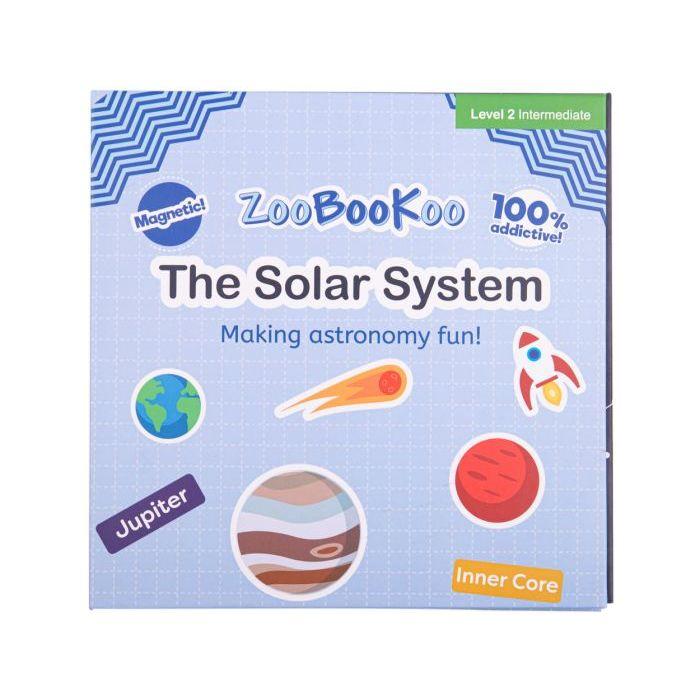 Zoobookoo Magnet Book The Solar System - educationaltoys.ie