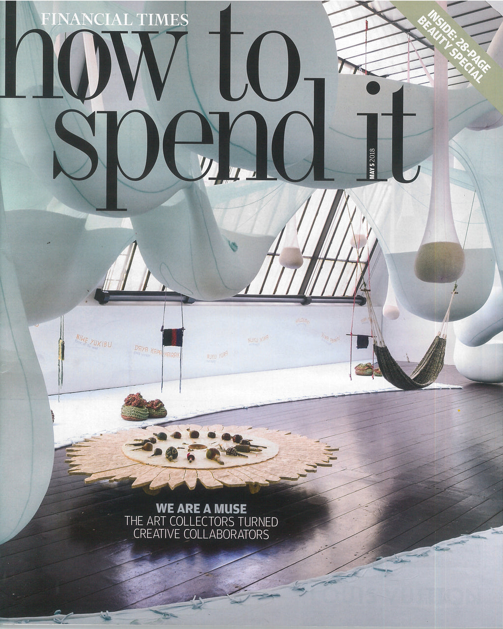 FT How To Spend It, 5th May