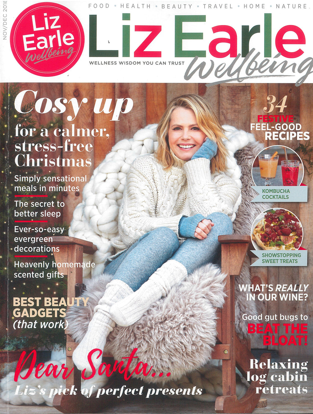Liz Earle Wellbeing - November/December 2018 - Idle EDP