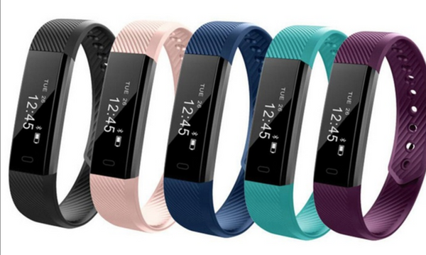 FourFit Fit Band 2.0 - Step and sleep tracker Fitness Tracker