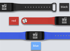 FourFit Health Band - Heart Rate Blood Oxygen Fitness Tracker