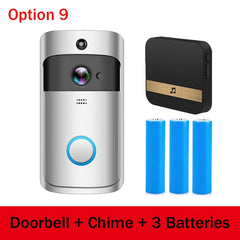 Doorbell Camera Ring Video Intercom call WIFI Video Phone Door Bell Cam Security Camera
