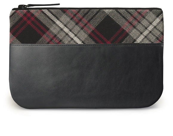 Auld Lang Syne Tartan Leather iPad Case Feature Image