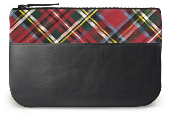 Bonnie Prince Charlie Tartan Leather iPad Case Feature Image