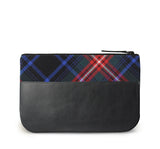 Braveheart Tartan Leather iPad Case Back View