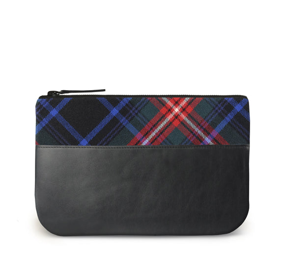 Braveheart Tartan Leather iPad Case Front View